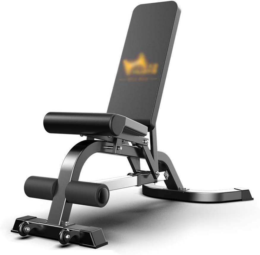 KFXL ウェイトトレーニングベンチ ワークアウトベンチ - 多機能ダンベルベンチベンチプレスホーム腹筋用仰向けフィットネス機器仰臥位ボードフィットネスチェア ベンチプレス
