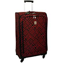 Jenni Chan Signature 28 Inch Upright Spinner, Black/Red, One Size