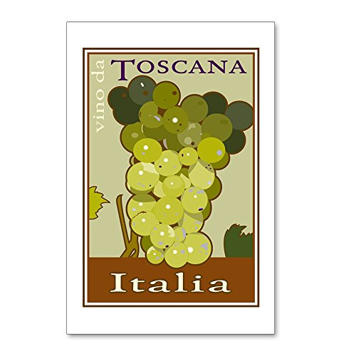 CafePress - Wines of Tuscany, Italy Postcards (Package of 8) - Postcards (Package of 8), 6