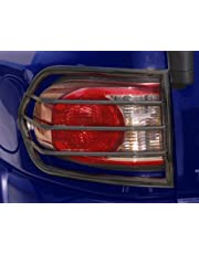 Body Armor 4x4 FJ-7135 Black - Steel Tail Light Guard for 2007-2012 Toyota FJ Cruiser (Pair)