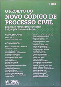 Projeto Do Novo Codigo De Processo Civil, O