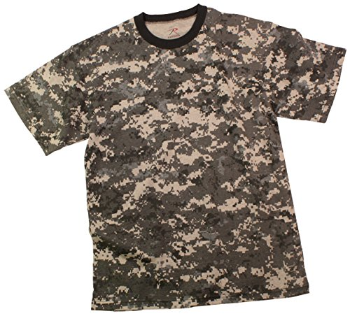 - Rothco Kids T-Shirt, Subdued Urban Digital Camo, Medium