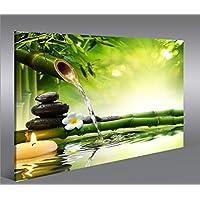 Quadro moderno Acqua Zen V3 Stampa su tela - Quadro x poltrone salotto cucina mobili ufficio casa - fotografica formato XXL
