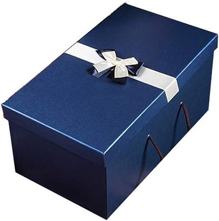 Warmhouse Cajas De Regalo Azul Marino, Estuche De Almacenamiento Duradero con Textura, para Navidad, Aniversarios, Celebraciones-A-M: Amazon.es: Hogar