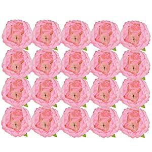 Woooow Artificial Peony Flowers Fake Roses for DIY Wedding Bridal Bridesmaids Bouquets Decor 74