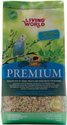 Living World Premium Parakeet/Budgie Mix, 2 Pounds, My Pet Supplies