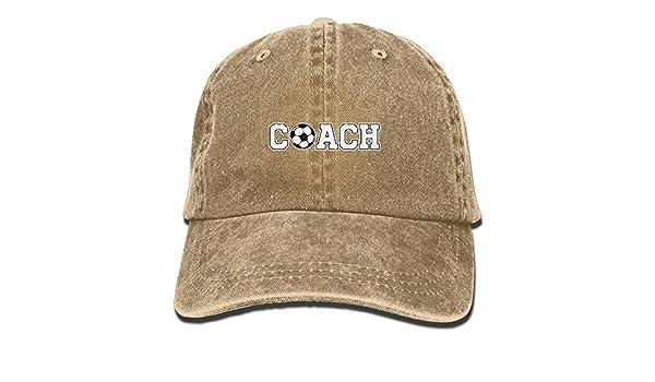 Entrenador de Fútbol Vintage Jeans Gorra de Béisbol Ajustable ...