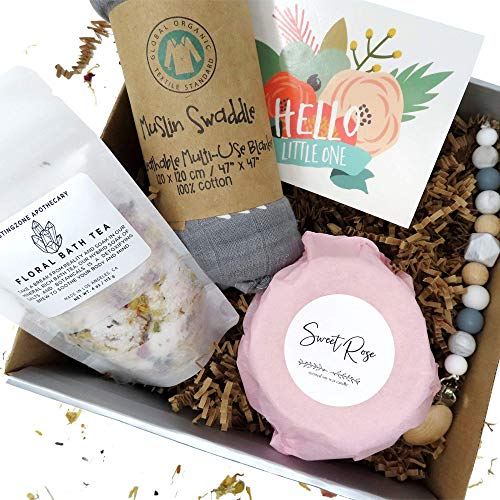 UnBoxMe Gift Box Basket for New Mother, Baby Present for New Moms