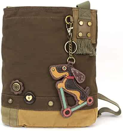 Chala Patch Crossbody Bag - Weiner Dog on Scooter 503047160d2f8