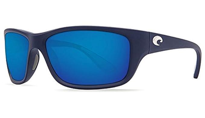 bb68ce5466 Costa Tasman Sea Sunglasses Matte Dark Blue   Blue Mirror 580P   Cleaning  Kit