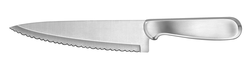 Ginsu Kotta Series Japanese 420J2 Stainless Steel 8-InchSerrated Chef's Knife 5004