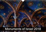 Monuments of Israel 2018 2018: The Best Photos from Wiki Loves Monuments, the World s Largest Photo Competition on Wikipedia (Calvendo Places)