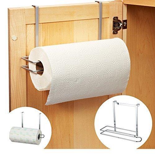 Under Shelf Kitchen Roll Holder: Kitchen Roll Holder Paper Towel Holder Under Cabinet Shelf