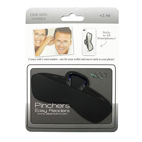 funky-rico-pinchers-mobile-frameless-reading-glasses-with-silicone-case-sticks-anywhere-for-men-and-