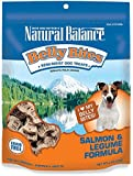Natural Balance Belly Bites Salmon & Legume Formula Semi-Moist Dog Treats, 6-Ounce