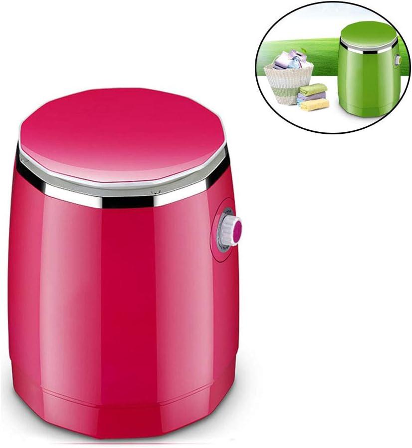 LK-HOME Mini Lavadora La Combinación De Lavadora Semiautomática Y Cubeta De Deshidratación Puede Lavar Ropa Interior Y Ropa Infantil Adecuada para Apartamentos Y Hoteles