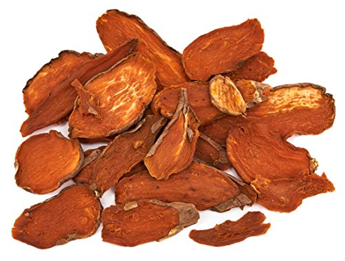 Sweet Potato Dog Treats- Dehydrated North American All Natural Thick Cut Sweet Potato Slices, Grain Free, No Preservatives Added, Best High Anti-Oxidant Healthy Dog Chew by Brutus & Barnaby