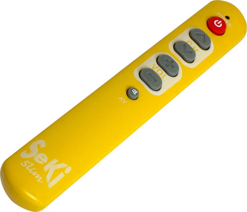 Telecomando universale colore Seki Slim Arancio//Giallo