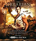The Librarian Trilogy - 3-Disc Set ( The Librarian: Quest for the Spear / The Librarian: Return to King Solomons Mines / The Librarian: The Curse of the Ju] [Region Free]