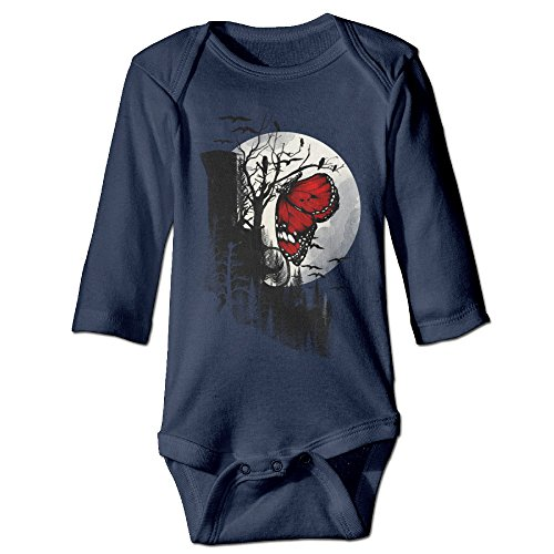 Nursling Butterfly Moon Unisex Baby Clothes LONG SLEEVES One Set (Moon Unit Zappa Valley Girl compare prices)
