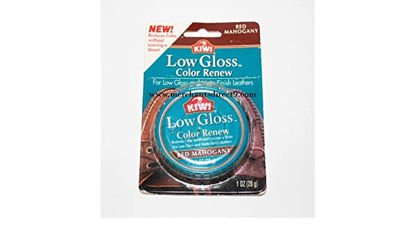 Amazon.com: Kiwi Low Gloss Color Renew, Red Mahogany, 1oz: Health & Personal Care