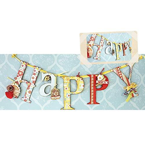 ADORNit DIY Banner Swag Craft Kit - Happy
