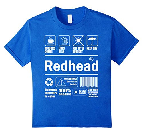 redhead-package-keep-out-of-sunlight-t-shirts