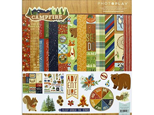 Photoplay Paper Photo Play 12x12 Campfire Collection Pack