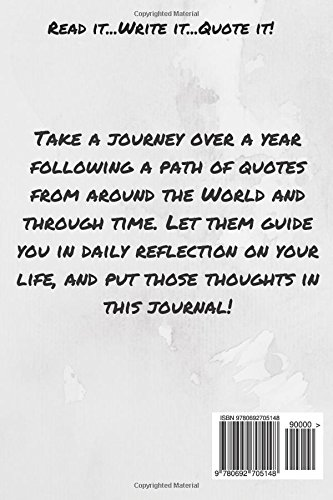 Your Thoughts Through Their Words Daily Quotation Guided Journaling