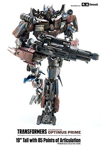 Premium Scale Figure Diamond Comic Distributors FEB178412 Three A Transformers Optimus Prime Evasion Edition