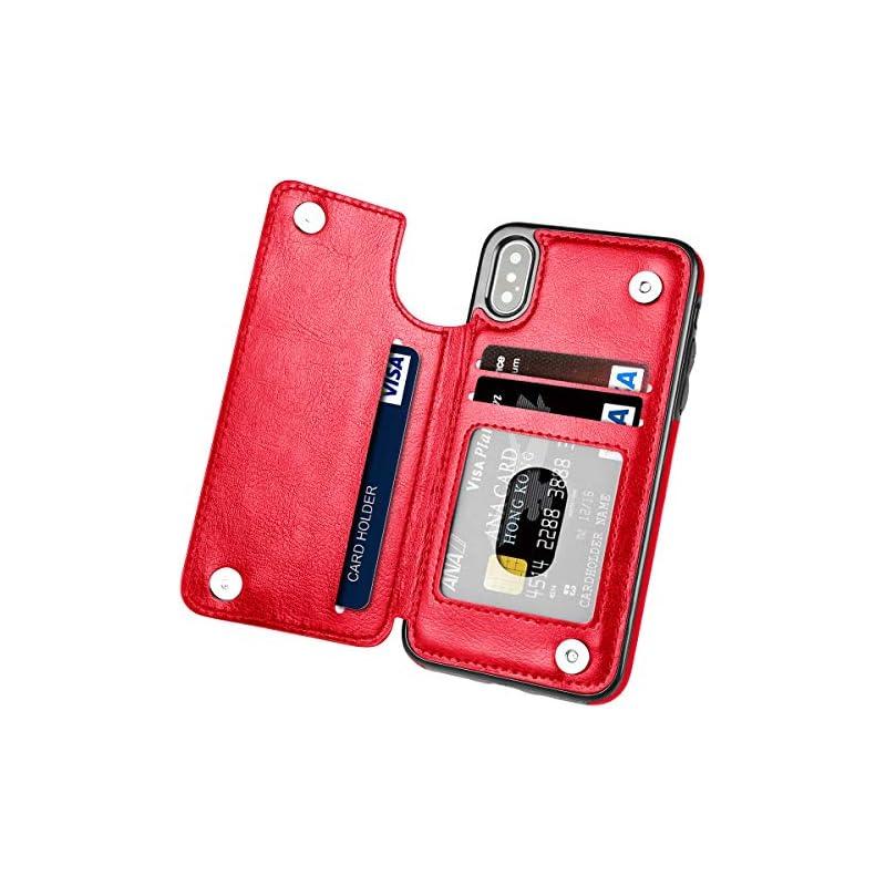 iPhone Xs Max Case,Hoofur Slim Fit Premi
