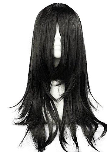 Aoi Kunieda Cosplay Costume (Mtxc Beelzebub Cosplay Aoi Kunieda Wig Black)