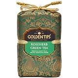 Golden Tips Roseherb Green Tea Brocade Bag (200g)