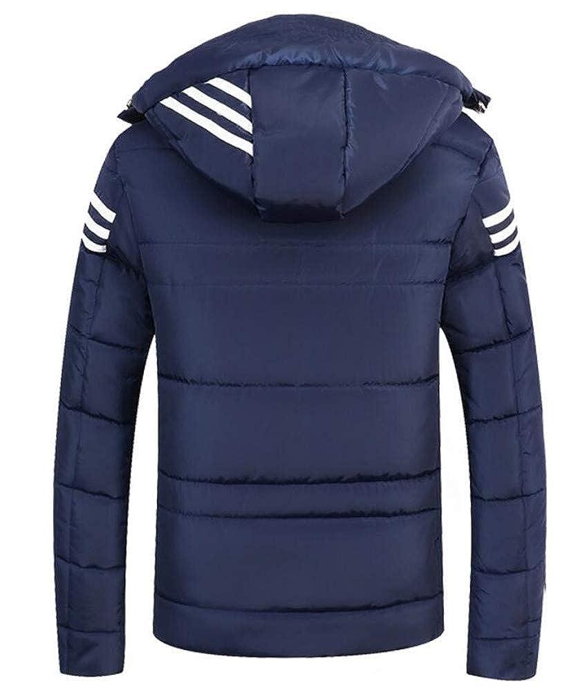Chaud Vêtements Rembourrée Hiver Homme Jacket Veste Épais Padded Et À Accessoires Blouson Brinny Capuche Manteau aZCR8wZxq