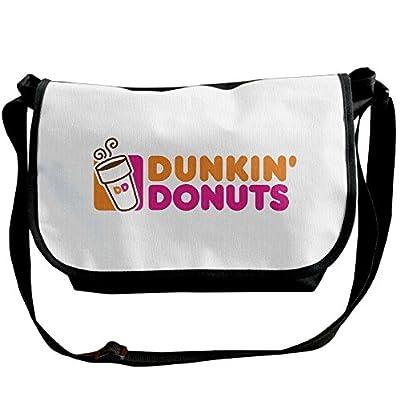 Unisex Doughnut Dunkin' D Shoulder Bags Casual Handbag Travel Crossbody Bag Messenger Sling Bag