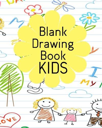 Blank Drawing Book Kids: Bullet Grid Journal, 8 X 10, 150 Dot Grid Pages (sketchbook, Journal, Doodle)