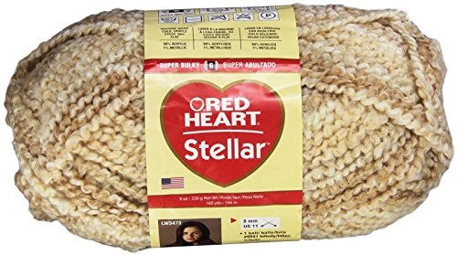 RED HEART Rh Stellar 8Oz Star