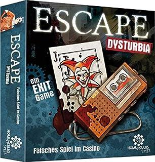 ESCAPE Dysturbia: Mörderischer Maskenball: Ein Exit Game: Amazon ...