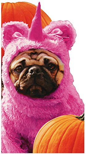 Pug In Unicorn Costume - Avanti Funny Dog Halloween Card - Funnyhalloween Costumes