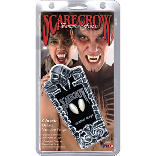 Scarecrow Makeup (SCARECROW CUSTOM VAMPIRE FANGS - LARGE ACCESSORIES)