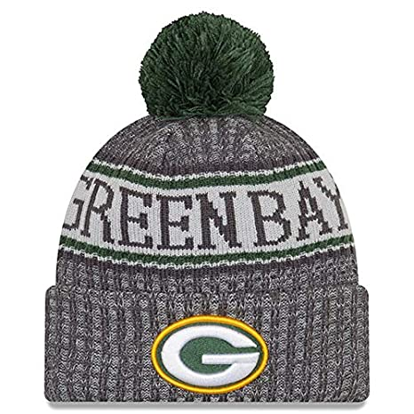 Image Unavailable. Image not available for. Color  New Era Green Bay Packers  Gray Graphite Sport Knit NFL 2018 Beanie ... 560c11dde