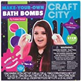 Craft City Karina Garcia DIY Make Your Own Bath Bomb Kit   Lavender and Jasmine Scents   Multi-Colored   All Natural