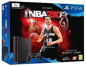 PlayStation 4 Slim (PS4) 1TB - Consola + NBA 2K17