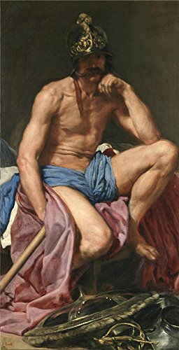 Perfect Effect Canvas ,the Beautiful Art Decorative Canvas Prints Of Oil Painting 'Velazquez Diego Rodriguez De Silva Y Mars Ca. 1641 ', 12 X 23 Inch / 30 X 60 Cm Is Best For Bathroom Decoration And Home Decor And (Cheetah Print Lip Tattoos)
