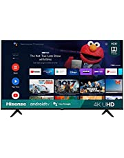 $289 » Hisense 43A6G 43-Inch 4K Ultra HD Android Smart TV with Alexa Compatibility (2021 Model)