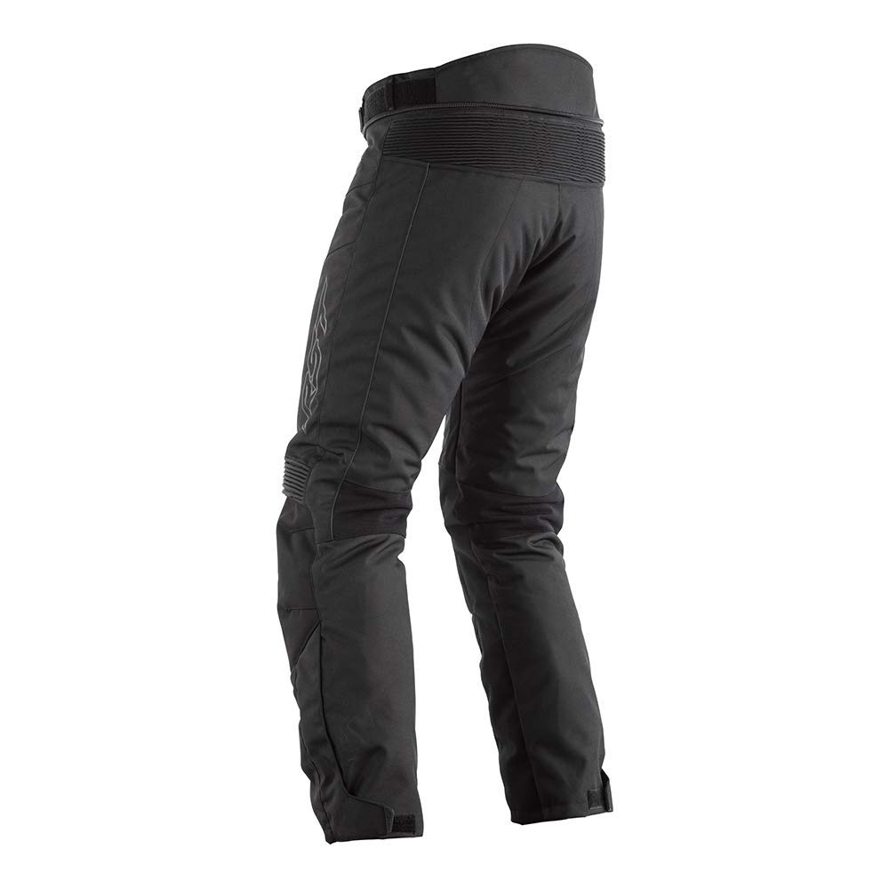 Mens Motorbike Waterproof Textile Trouser RST SYNCRO CE Knee Armour Motorcycle Riding Jeans in Black