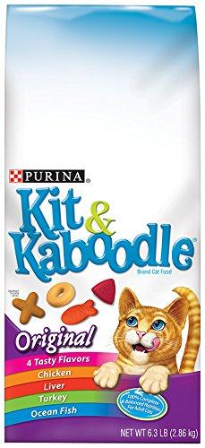 Purina Kit & Kaboodle Original Cat Food 6.3 lb. Bag