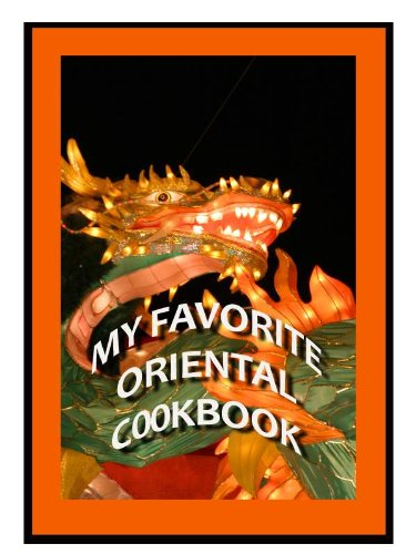 My Favorite Oriental Cookbook -