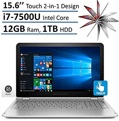 HP Newest ENVY x360 2-in-1 Convertible 15.6 inch Full HD Touchscreen Backlit Keyboard Flagship High Performance Laptop PC