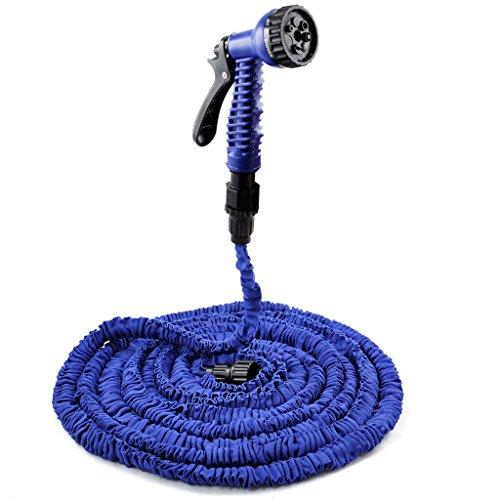 Veroda 50FT Flexible Hose Nozzle Expandable House Garden Water Spray